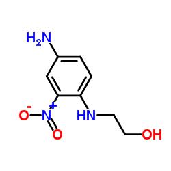 2-(4-Amino-2-nitroanilino)-ethanol CAS:2871-01-4