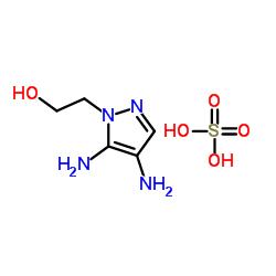 4,5-Diamino-1-(2-Hydroxy)Ethyl Pyrazole Sulfate CAS:155601-30-2