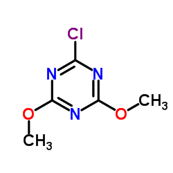 2-Chloro-4,6-dimethoxy-1,3,5-triazine CAS:3140-73-6