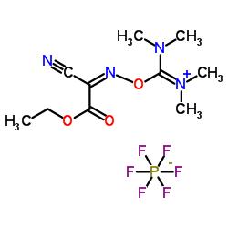 6- 시아 노 -N, N, 2- 트리메틸 -7- 옥소 -4,8- 디 옥사 -2,5- 디아 자덱 -5- 엔 -3- 아미노 헥사 플루오로 포스페이트