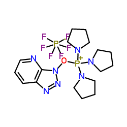 (7-Azabenzotriazol-1-yloxy)tripyrrolidinophosphonium hexafluorophosphate CAS:156311-83-0