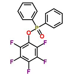 1- 디 페닐 포스 포릴 옥시 -2,3,4,5,6- 펜타 플루오로 벤젠