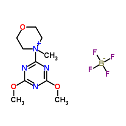 4-(4,6-dimethoxy-1,3,5-triazin-2-yl)morpholin-4-ium,tetrafluoroborate CAS:293311-03-2