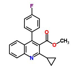 4-(4-Fluorophenyl)-2-cyclopropylquinoline-3-carboxylic Acid Methyl Ester