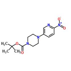 tert-butyl 4-(6-nitropyridin-3-yl)piperazine-1-carboxylate CAS:571189-16-7