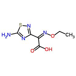 (Z)-2-(5-Amino-1,2,4-thiadiazol-3-yl)-2-(ethoxyimino)acetic acid CAS:75028-24-9