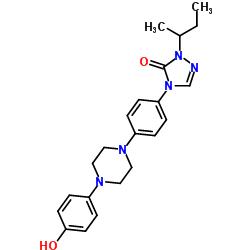 2,4-DI-HIDRO-4 - [(4- (4-HIDROXIFENIL) -1-PIPERAZINIL) FENIL] -2- (1-METILPROPIL) -3H-1,2,4-TRIAZOLE-3-ONE