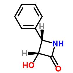 (3R,4S)-3-Hydroxy-4-phenylazetidin-2-one CAS:132127-34-5