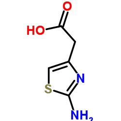 2-(2-amino-1,3-thiazol-4-yl)acetic acid CAS:29676-71-9