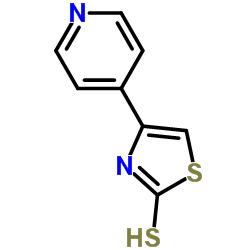 4- 피리딘 -4- 일 -3H-1,3- 티아 졸 -2- 티아 온