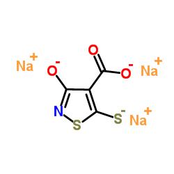 3-oxo-5-sulfanyl-1,2-thiazole-4-carboxylic acid,sodium CAS:76857-14-2