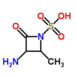 (2S)-trans-3-Amino-2-methyl-4-oxoazetidine-1-sulphonic acid CAS:80082-65-1