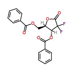 2-Deoxy-2,2-difluoro-D-erythro-pentafuranous-1-ulose-3,5-dibenzoate CAS:122111-01-7