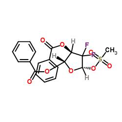 2- 데 옥시 -2,2- 디 플루오로 -D- 에리트로-펜토 푸라 노스 -3,5- 디 벤조 에이트 -1- 메탄 설포 네이트