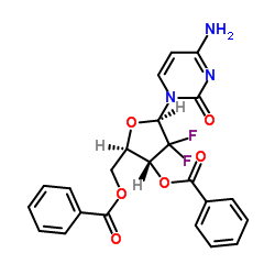2',2'-Difluoro-2'-deoxycytidine-3',5'-dibenzoate