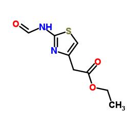Ethyl 2-(2-formamidothiazol-4-yl)acetate CAS:64987-05-9