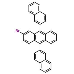 2-Bromo-9,10-bis(2-naphthalenyl)anthracene CAS:474688-76-1
