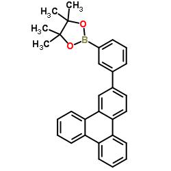 4,4,5,5-tetramethyl-2-(3-(triphenylen-2-yl)phenyl)-1,3,2-dioxaborolane CAS:1115639-92-3