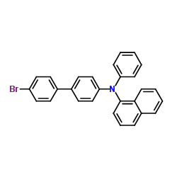 N-(4'-bromo-[1,1'-biphenyl]-4-yl)-N-phenylnaphthalen-1-amine CAS:352359-42-3