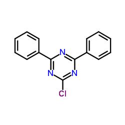 2-Chloro-4,6-diphenyl-1,3,5-triazine CAS:3842-55-5
