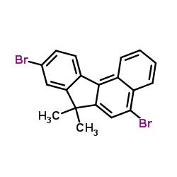 5,9-Dibromo-7,7-dimethyl-7H-benzo[c]fluorene