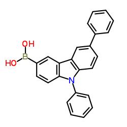 6,9-Diphenyl-9H-carbazol-3-yl-3-boronic acid CAS:1133058-06-6