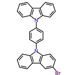 9- (4- (9H- 카르 바졸 -9- 일) 페닐) -3- 브로 모 -9H- 카르 바졸