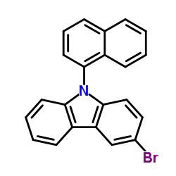 3-bromo-9-naphthalen-1-ylcarbazole CAS:934545-83-2