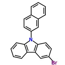 3-bromo-9-naphthalen-2-ylcarbazole CAS:934545-80-9