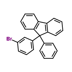 9-(3-bromophenyl)-9-phenylfluorene CAS:1257251-75-4