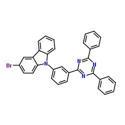 3- 브로 모 -9- [3- (4,6- 디 페닐 -1,3,5- 트리 아진 -2- 일) 페닐] -9H- 카르 바졸