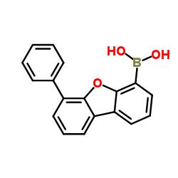 (6- 페닐 디 벤조 [b, d] 푸란 -4- 일) 보론 산
