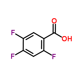 2,4,5-Trifluorobenzoic acid CAS:446-17-3