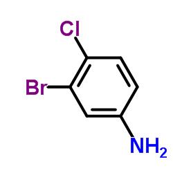 3-Bromo-4-chloroaniline CAS:823-54-1