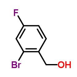 (2-bromo-4-fluorophenyl)methanol CAS:229027-89-8