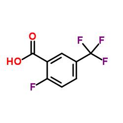2-FLUORO-5-(TRIFLUOROMETHYL)BENZOIC ACID CAS:115029-23-7