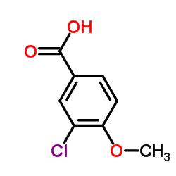 3-Chloro-4-methoxybenzoic Acid CAS:37908-96-6