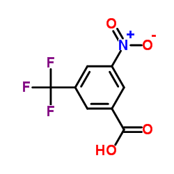 3-NITRO-5-(TRIFLUOROMETHYL)BENZOIC ACID CAS:328-80-3