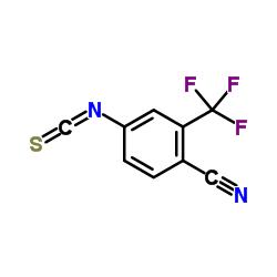 4-Isothiocyanato-2-(trifluoromethyl)benzonitrile CAS:143782-23-4