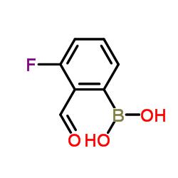 Ácido 3-fluoro-2-formilfenilborônico