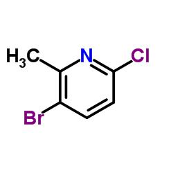 3-Bromo-6-chloro-2-methylpyridine CAS:132606-40-7