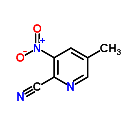 5-Methyl-3-nitropicolinonitrile CAS:1089330-68-6