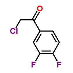 2- 클로로 -1- (3,4- 다이 플루오로 페닐) 에타 논