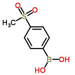 4- (메틸 설 포닐) 페닐 보론 산