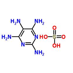 2,4,5,6-Tetraaminopyrimidine sulfate CAS:5392-28-9