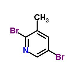 2,5-Dibromo-3-methylpyridine CAS:3430-18-0