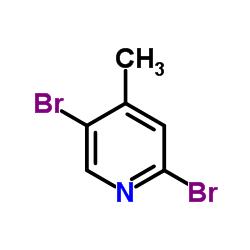 2,5-Dibromo-4-methylpyridine CAS:3430-26-0