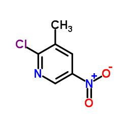 2-Chloro-3-methyl-5-nitropyridine CAS:22280-56-4