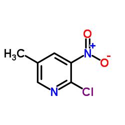 2-Chloro-5-methyl-3-nitropyridine CAS:23056-40-8