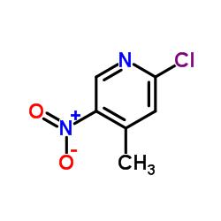 2-Cloro-4-metil-5-nitropiridina